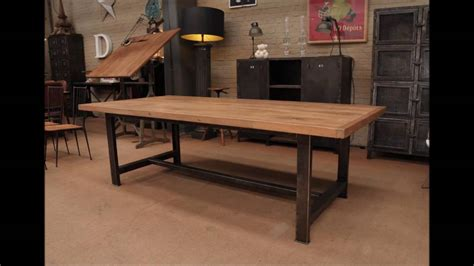 industrial dining room table dining room wood industrial dining table with wall