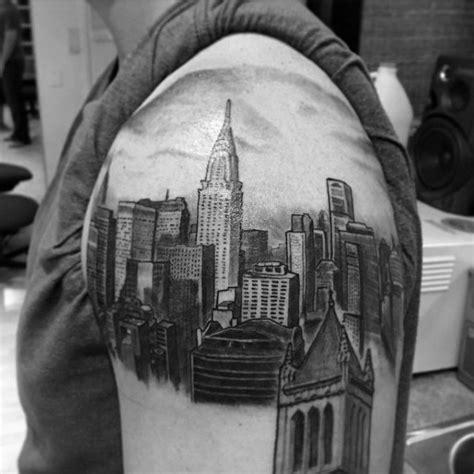 new york tattoo hours 60 new york skyline tattoo designs for men big apple ink
