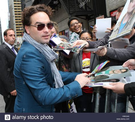 johnny galecki late late show johnny galecki stock photos johnny galecki stock images