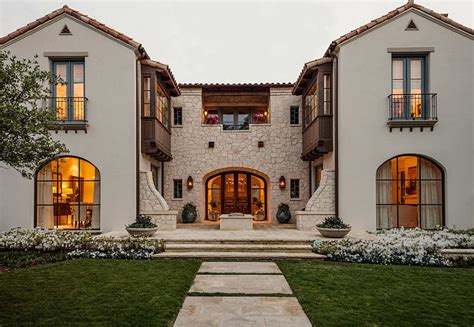 Tuscan Style Homes by A Timeless Affair 25 Juliet Balconies That Deliver