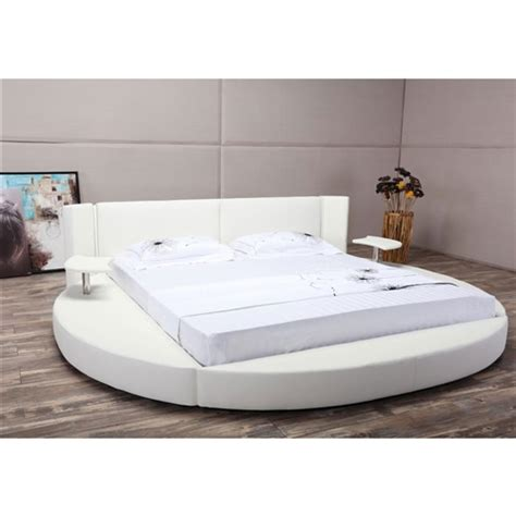 round platform bed creativeworks home decor platform beds