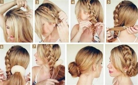 tutorial rambut cacing 10 side bun tutorials low messy and braids updos