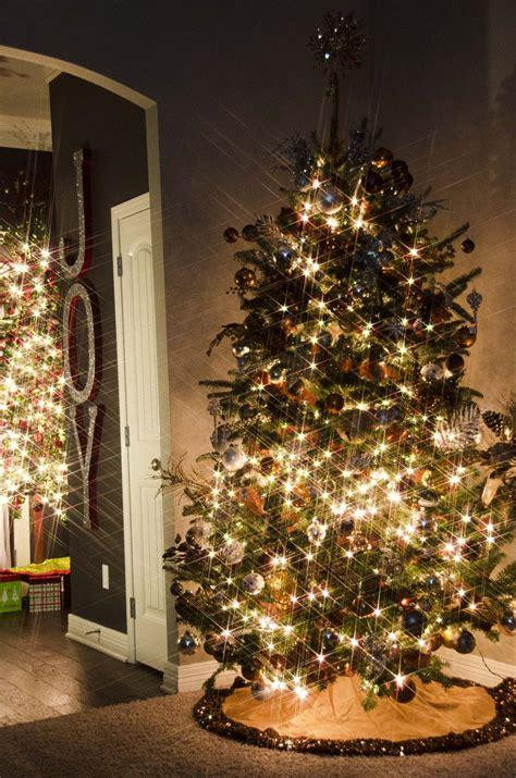 silver gold  bronze glitter sparkle christmas tree decor red green foyer christmas tree
