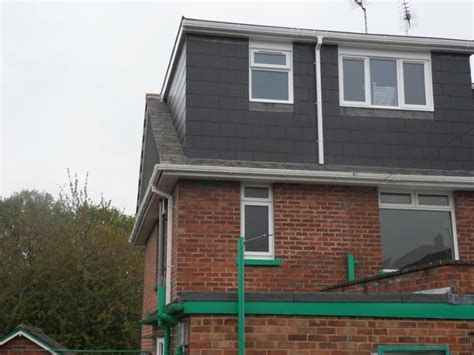 Rear Dormer Extension Flat Roof Dormer On Rear Elevation Of Hip To Gable Loft