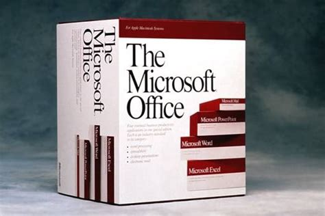 Microsoft Office Original a brief history of microsoft office articles