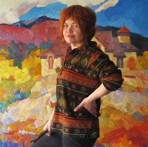 biography of a fine artist the friday experience larisa aukon color of life
