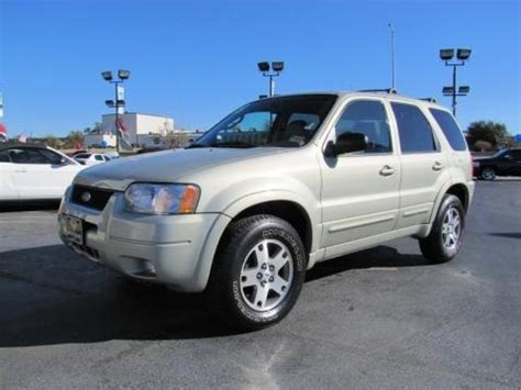 2003 ford escape limited data info and specs gtcarlot