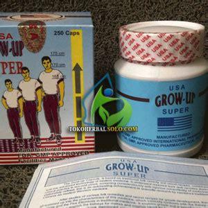 Suplemen Obat Peninggi Badan Usa toko herbal jual grow up usa peninggi badan ori segel