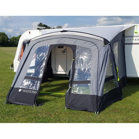 Erect Awning For Cervan by Crusader Climate Zone Air Penta 350 Easy Erect
