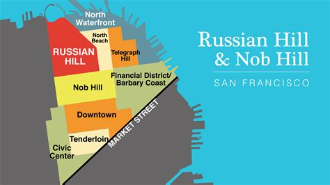 san francisco map nob hill district maps bay area drop in
