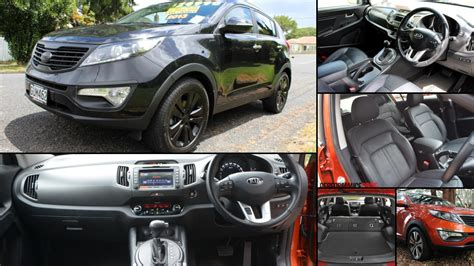kia sportage all years and modifications with reviews