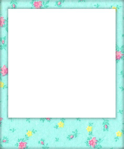 polaroid picture holder card template shabby blogs vintage freebie with keren vintage floral