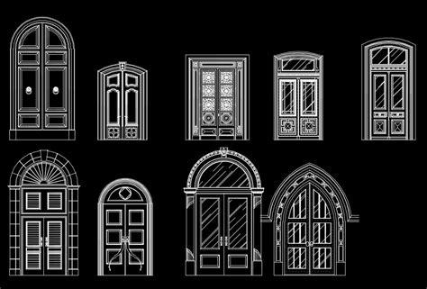 types   door design ideas cad design  cad