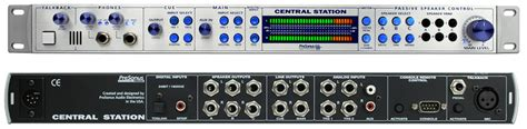 Presonus Central Station 1 presonus central station plus pro audio studio center remote with trs 1 4 quot