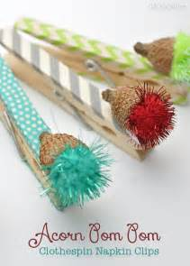 washi tape crafts washi tape dolls washi tape craft love the colors holiday washi tape glittery colored acorn clothespin nature craft idea
