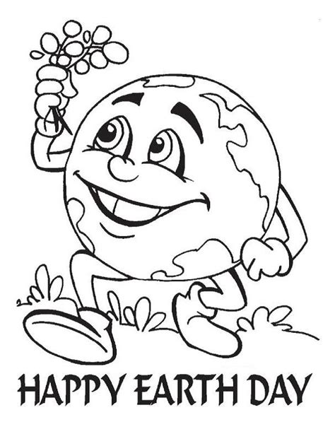 kids earth day coloring pages