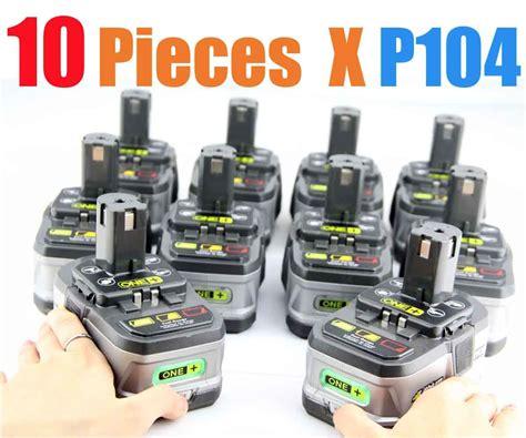 10 Packs Ryobi 18volt Lithium Battery One Ryobi Lithium