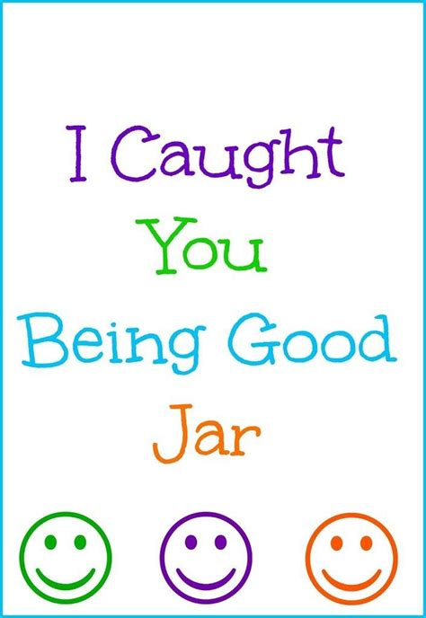 printable caught being good tickets i caught you being good jar positive reinforcement