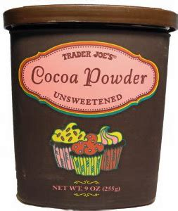 frozen hot chocolate with unsweetened cocoa powder trader joe s unsweetened cocoa powder reviews trader joe