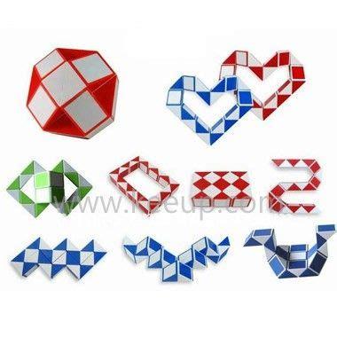 pattern for rubik s triangle folding plastic magic cube snake puzzle wiskundige