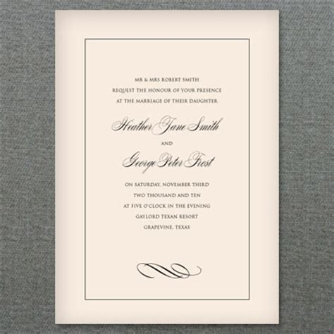 plain wedding invitation templates diy wedding invitation styled 3 ways