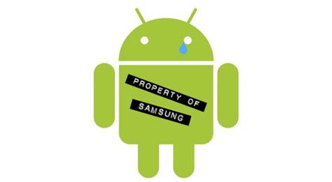 android samsung samsung has android its heel and there s nothing