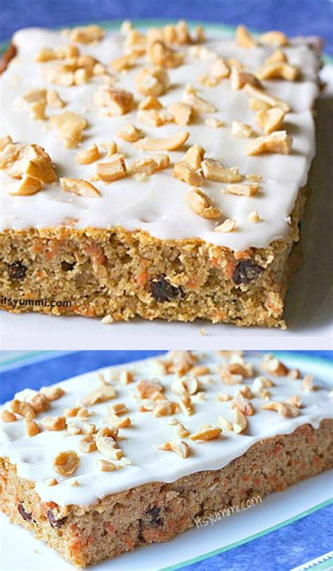 Carrot Cake Cheese healthier carrot cake with cashew cheese frosting