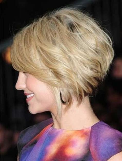 20 fashionable short hairstyles for 2015 styles weekly loosely stacked bob hairstyle styles weekly
