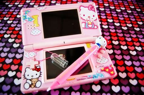 hello kitty nintendo ds hello kitty nintendo ds hello kitty frenzy pinterest