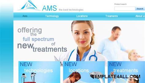 template of hospital website hospital website design templates peermaster