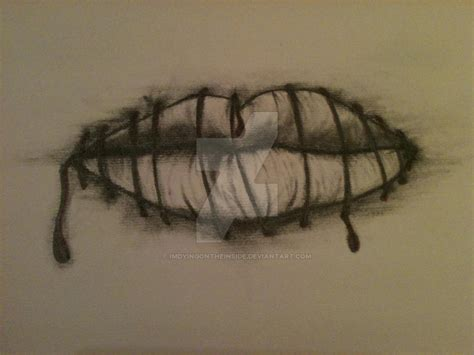 tattoo sewn lips top sewn lips images for pinterest tattoos