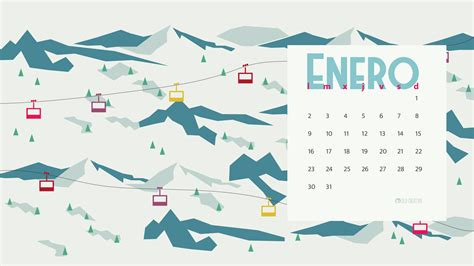 Calendario 2017 De Enero Calendario Descargable Enero 2017 Silo Creativo