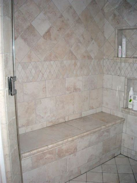 shower built in bench shower with bench seat creating dodge texas pinterest