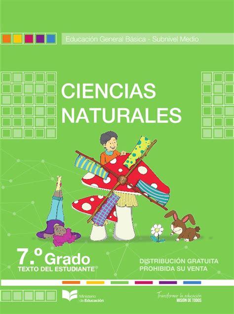 libro de ciencias naturales de 5 basica libro de ciencias naturales 7 grado santillana 2016 pdf