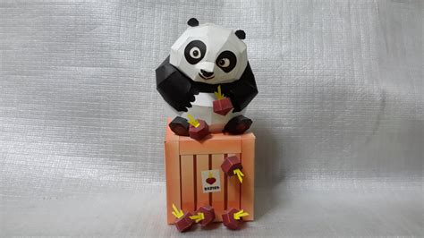paper craft panda kung fu panda 2 papercraft by mironius on deviantart