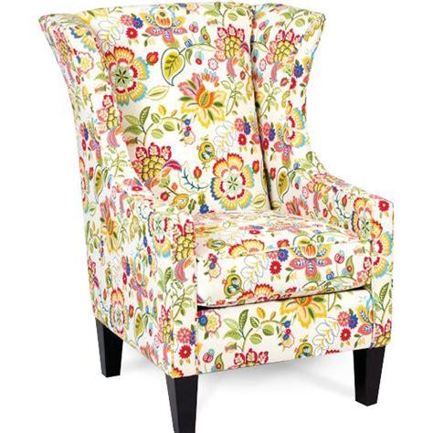 floral garden wingback chair telfair rc willey