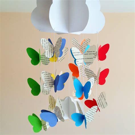 giostrina per culla giostrina per culla neonato con nuvola e farfalle a pagine