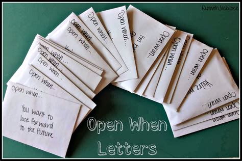 up open letter runwithjackabee open when letters