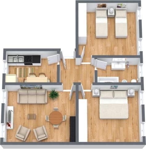 planimetria da letto appartamento a venezia con giardino con 2 camere da letto