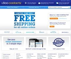 $30 Off 1-800 Contacts Coupons - January 2019 1 800 Contacts Promo Code