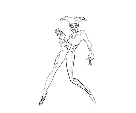 harley quinn and joker coloring pages batman arkham city harley quinn smirk how coloring