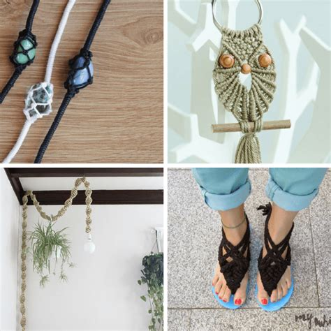 Macrame Projects For - a roundup of 20 macrame projects retro macrame crafts