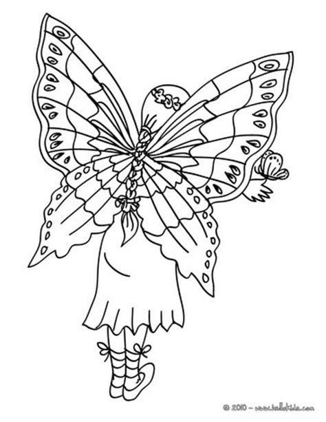 fairy wings coloring pages hellokids com