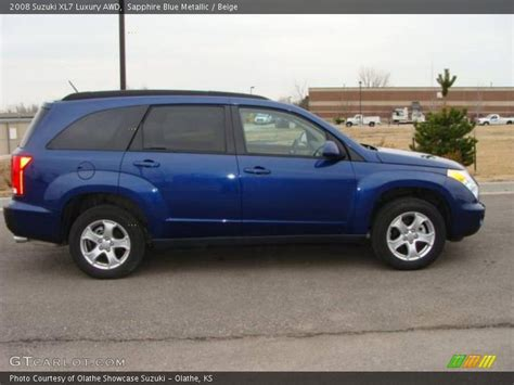 Suzuki Xl7 2008 2008 Suzuki Xl7 Luxury Awd In Sapphire Blue Metallic Photo