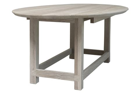 Bleached Dining Table Bleached Oak Gate Leg Dining Table Or Console Omero Home