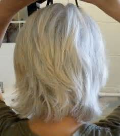 mid length grey hair linda gray hair styles hairstyle gallery