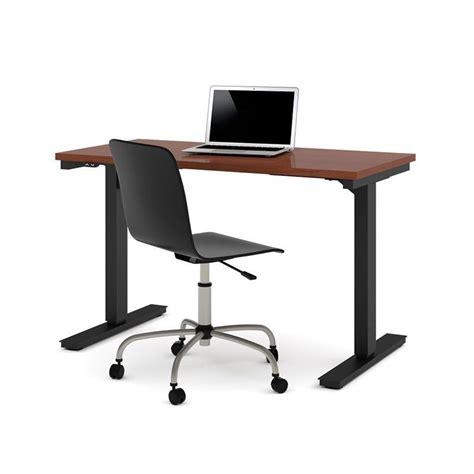 Bestar 24 Quot X 48 Quot Power Adjustable Standing Desk In Powered Standing Desk