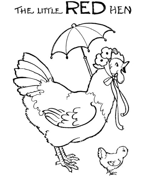 reading rocks coloring page little red hen colouring pages free 1920s kid stuff