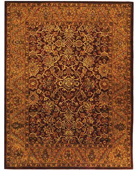 burgundy and gold rug safavieh handmade golden jaipur burgundy gold wool rug 9 6 x 13 6 contemporary area rugs