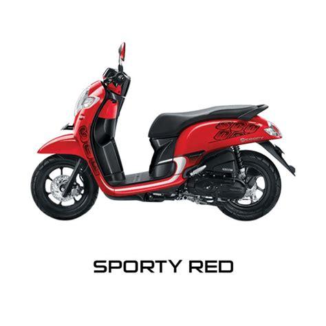 blibli honda jual honda new scoopy esp sporty sepeda motor online